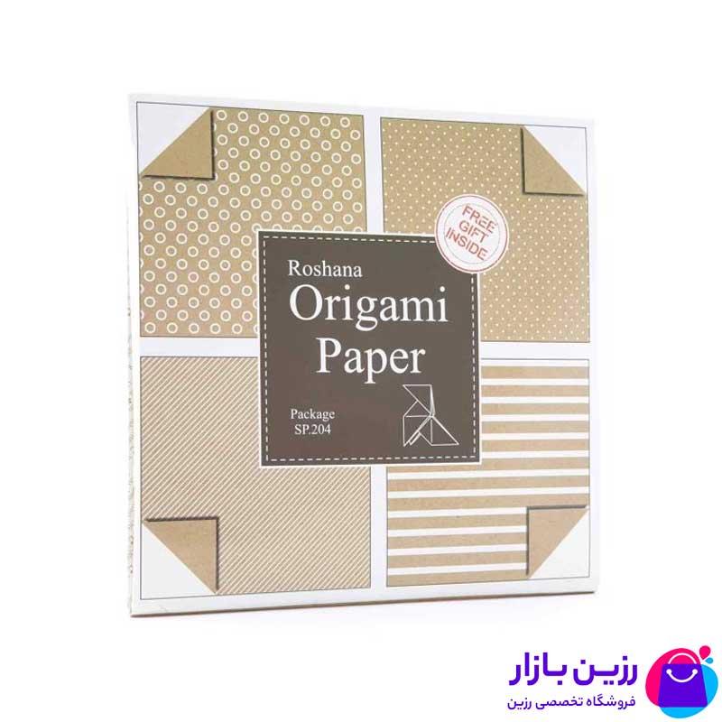 کاغذ مخصوص اوریگامی کرافت